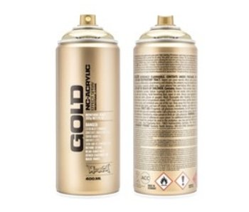 MONTANA MONTANA GOLD SPRAY PAINT 400ML CHROME GOLD