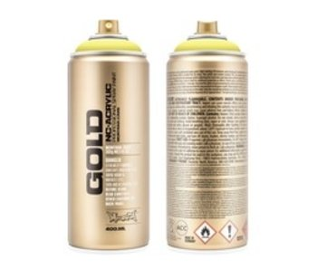MONTANA MONTANA GOLD SPRAY PAINT 400ML BUTTA
