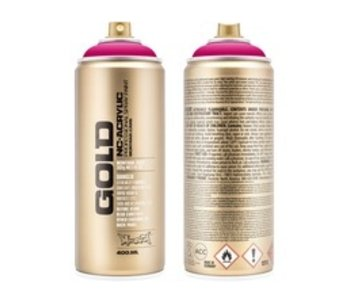 MONTANA MONTANA GOLD SPRAY PAINT 400ML 100% MAGENTA