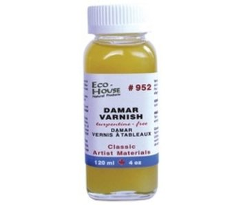 ECO-HOUSE DAMAR PICTURE VARNISH 4OZ