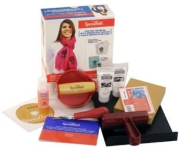 SPEEDBALL SPEEDBALL Ultimate Fabric & Paper Block Printing Kit,
