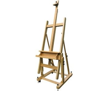 ART ADVANTAGE ART ADVANTAGE H-FRAME STUDIO EASEL BEECHWOOD