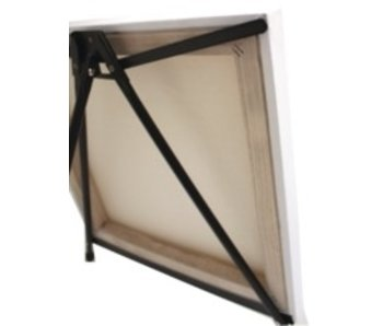 ART ALTERNATIVES ART ALTERNATIVES MARIPOSE ALUMINUM TABLE EASEL