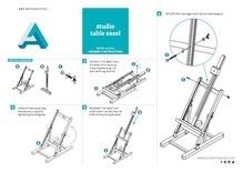 ART Art Alternatives Studio Table Easel