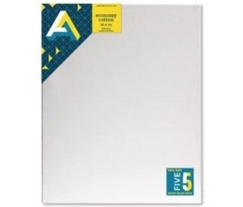ART ALTERNATIVES ART ALTERNATIVES ECONOMY STRETCHED CANVAS 16x20 5 CANVAS VALUE PACK