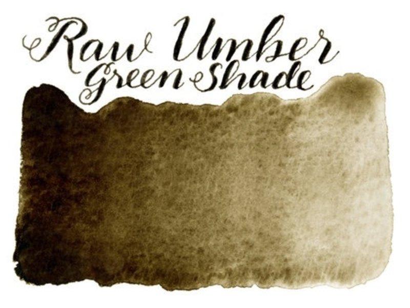 STONEGROUND STONEGROUND PAINT HALF PAN RAW UMBER GREEN SHADE