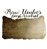 Half Pan Raw Umber Dark Neutral