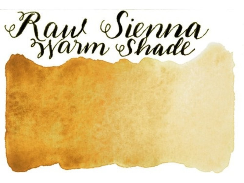 Half Pan Raw Sienna Warm Shade