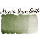 STONEGROUND STONEGROUND PAINT HALF PAN NICOSIA GREEN EARTH