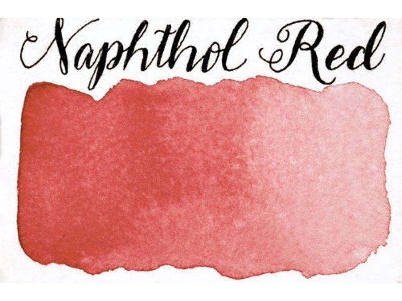 STONEGROUND PAINT HALF PAN NAPHTHOL RED