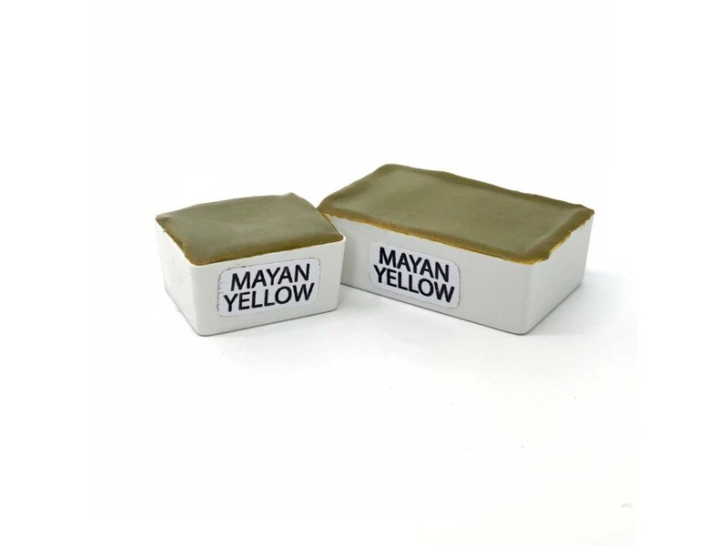 STONEGROUND PAINT HALF PAN MAYAN YELLOW