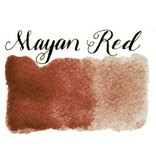 Half Pan Mayan Red