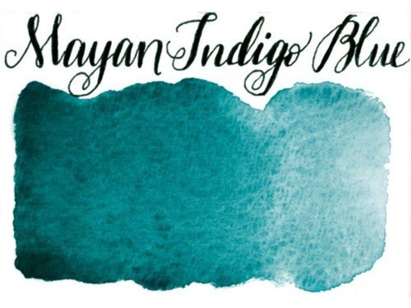 Half Pan Mayan Indigo Blue