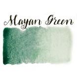 Half Pan Mayan Green