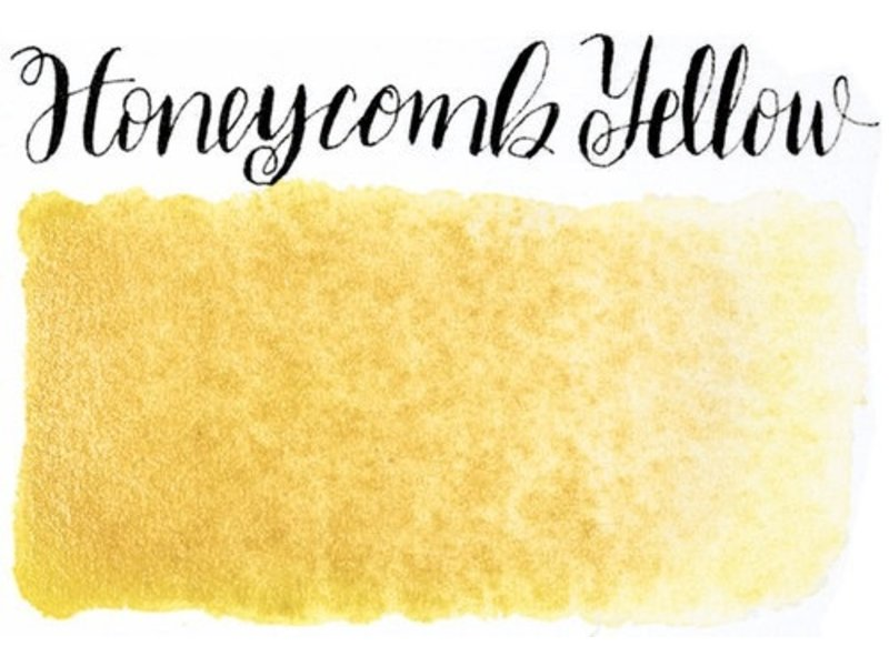 STONEGROUND PAINT HALF PAN HONEYCOMB YELLOW
