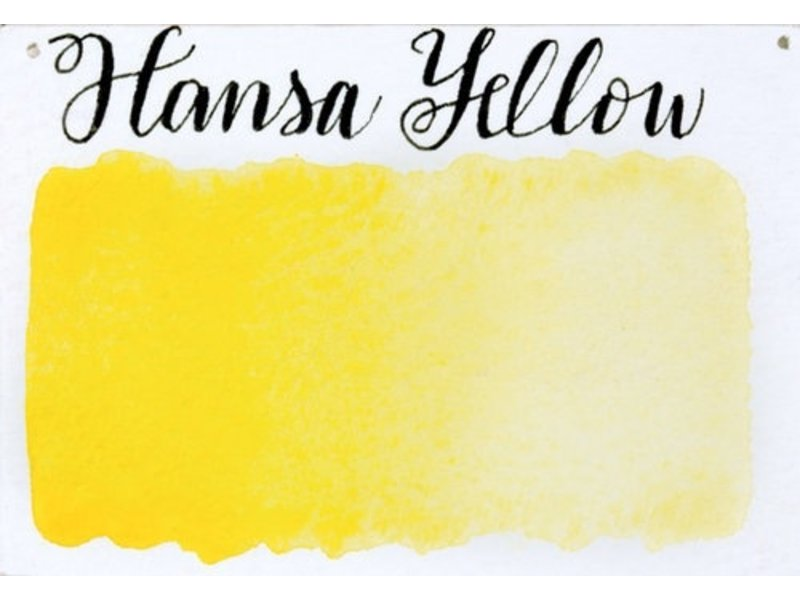 Half Pan Hansa Yellow