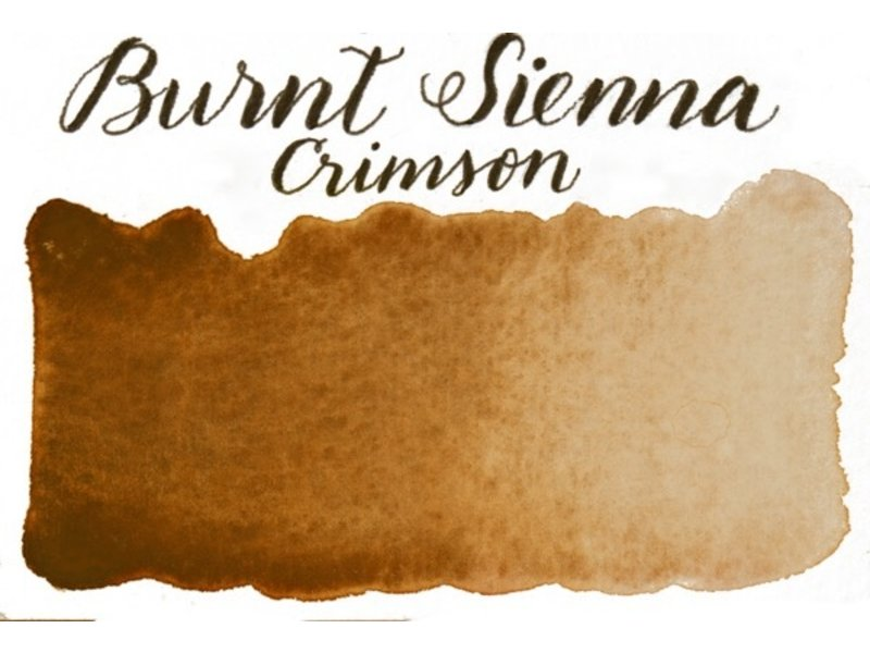Half Pan Burnt Sienna Crimson