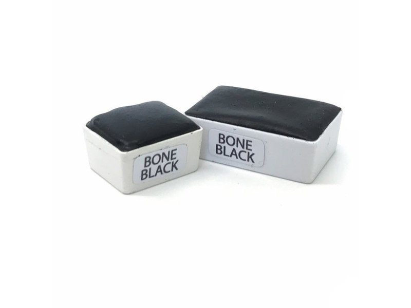 Half Pan Bone Black
