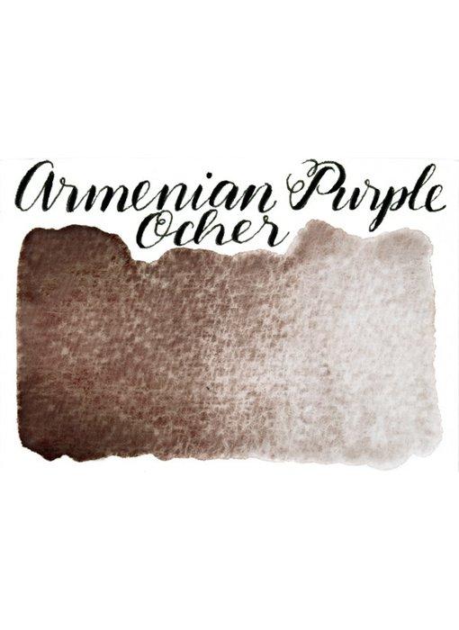 STONEGROUND PAINT HALF PAN ARMENIAN PURPLE OCHER