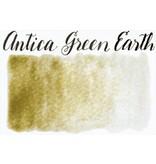 STONEGROUND PAINT HALF PAN ANTICA GREEN EARTH