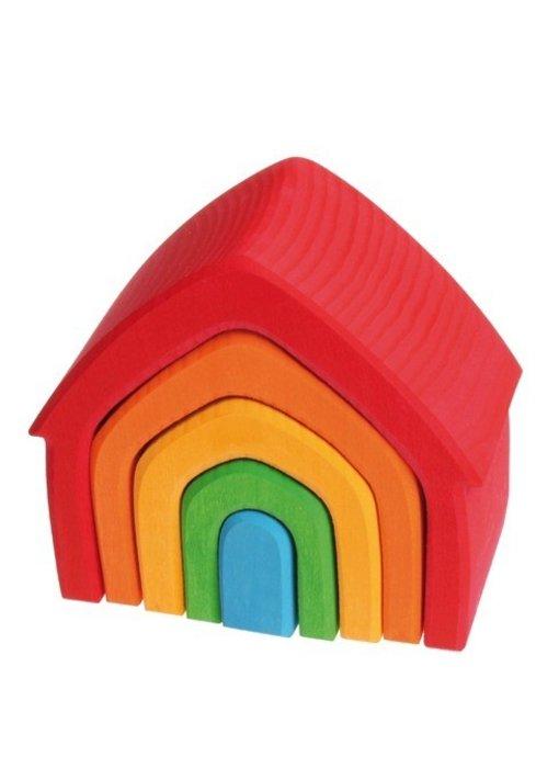 GRIMM'S SPIEL GRIMM'S SPIEL UND HOLZ LITTLE HOUSE FOR PLAYING IDEAS
