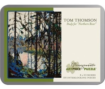 POMEGRANATE ARTPIECE PUZZLE 100 PIECE: TOM THOMPSON STUDY FOR NORTHERN RIVER