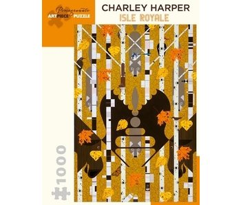 THINKPLAY POMEGRANATE ARTPIECE PUZZLE 1000 PIECE: CHARLEY HARPER ISLE ROYALE