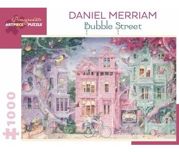 POMEGRANATE ARTPIECE PUZZLE 1000 PIECE: DANIEL MERRIAM BUBBLE STREET