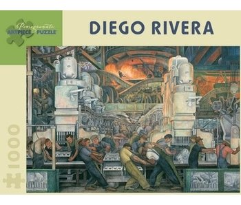 POMEGRANATE ARTPIECE PUZZLE 1000 PIECE: DIEGO RIVERA