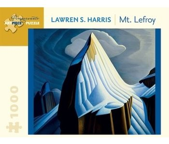 POMEGRANATE ARTPIECE PUZZLE 1000 PIECE: LAWREN S HARRIS MT. LEFROY
