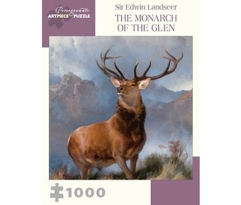 POMEGRANATE ARTPIECE PUZZLE 1000 PIECE: THE MONARCH OF THE GLENN