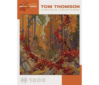 POMEGRANATE ARTPIECE PUZZLE 1000 PIECE: TOM THOMPSON AUTUMNÕS GARLAND