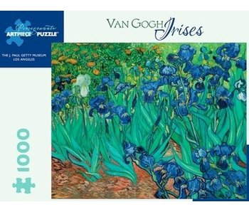 POMEGRANATE ARTPIECE PUZZLE 1000 PIECE: VAN GOGH IRISES