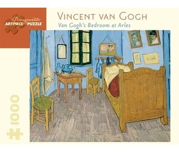 POMEGRANATE ARTPIECE PUZZLE 1000 PIECES: VINCENT VAN GOGH VAN GOGHÕS BEDROON AT ARLES