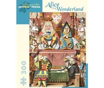 POMEGRANATE ARTPIECE PUZZLE 300 PIECE: ALICE IN WONDERLAND