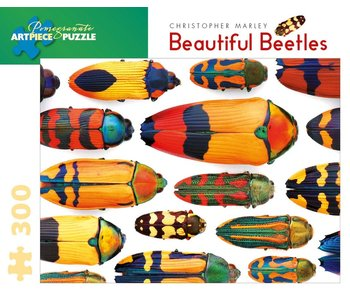 POMEGRANATE ARTPIECE PUZZLE 300 PIECE: BEAUTIFUL BEETLES