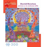 POMEGRANATE ARTPIECE PUZZLE 300 PIECE: DAVID NEWTON RETURN TO THE WELCOME HILLS