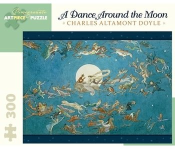 POMEGRANATE ARTPIECE PUZZLE 300 PIECE: DOYLE DANCE AROUND THE MOON
