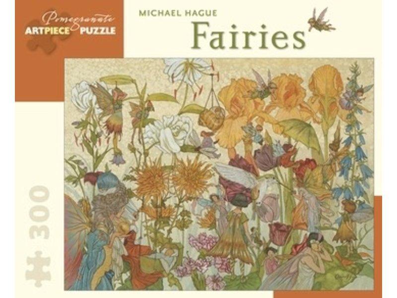 THINKPLAY POMEGRANATE ARTPIECE PUZZLE 300 PIECE: FAIRIES