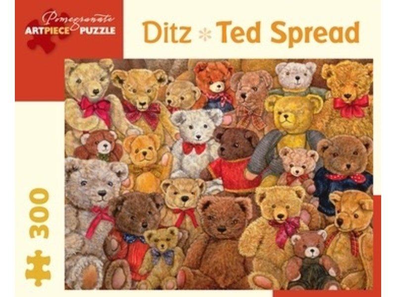 POMEGRANATE ARTPIECE PUZZLE 300 PIECE: JDITZ TED SPREAD