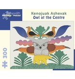 POMEGRANATE ARTPIECE PUZZLE 300 PIECE: OWL AT THE CENTRE