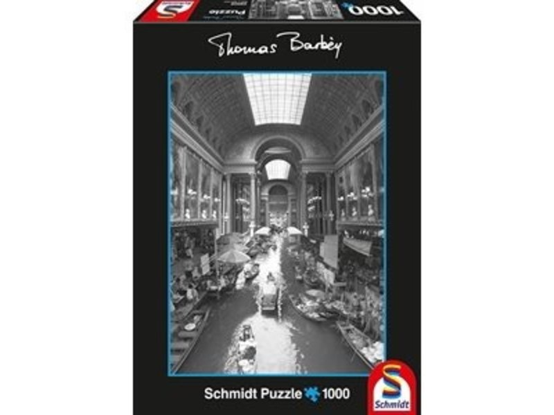 THINKPLAY SCHMIDT PUZZLE 1000: THOMAS BARBEY - INDOOR CANAL