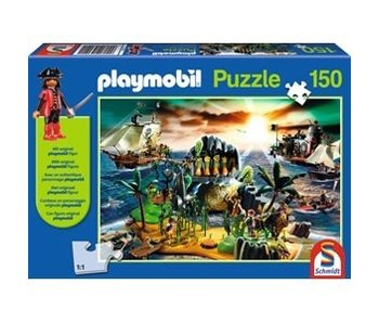 LION RAMPANT IMPORTS SCHMIDT PUZZLE 150: PLAYMOBIL - ROYAL TREASURE