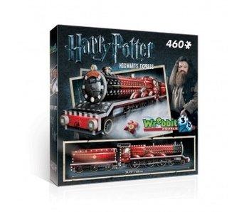 WREBBIT 3D PUZZLE 460PC: HARRY POTTER HOGWARTS EXPRESS