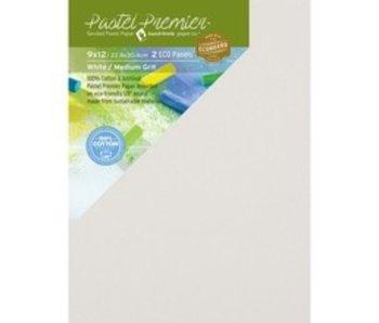 PASTEL PREMIER SANDED PASTEL PAPER 9X12 2 PANELS WHITE