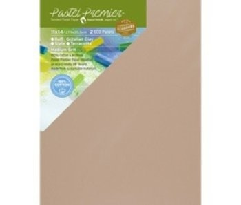 PASTEL PREMIER SANDED PASTEL PAPER 11X14 2 PANELS ITALIAN CLAY