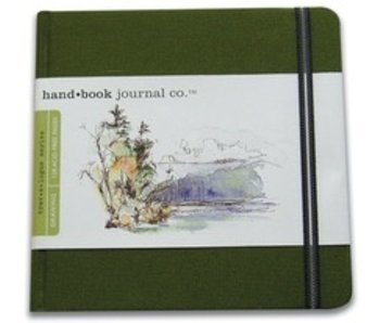 HAND BOOK JOURNAL CO SQUARE 5.5X5.5 GREEN