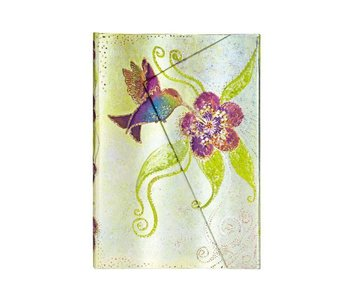 PAPERBLANKS PAPERBLANKS JOURNAL WHIMSICAL CREATIONS HUMMINGBIRD MINI WRAP LINED