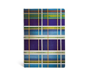 PAPERBLANKS PAPERBLANKS JOURNAL MAD FOR PLAID DAVENPORT MIDI UNLINED