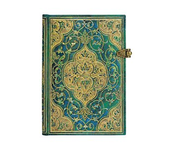 PAPERBLANKS PAPERBLANK JOURNAL TURQUOISE CHRONICLES MINI UNLINED